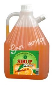 Sirup 3,8kg pomeranč (63 brixů)