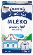 Mléko trvanlivé polotučné 1l (12)