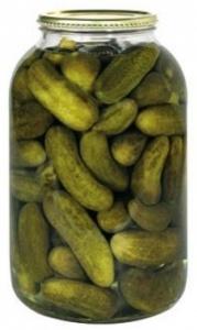 Okurky sterilované S4 9-12 cm