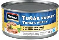 Tuňák kousky v oleji 185g (48)