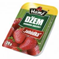 Džem porcovaný jahoda Hamé 20g (48 ks)