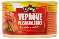 Vepřové maso ve vlastní šťávě 400g (8)