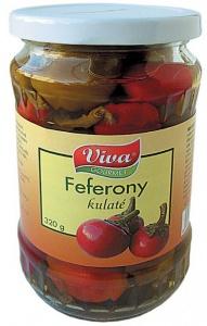 Feferony kulaté 320g (6)