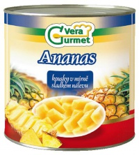 Kompot ananas kousky 3060g IDS