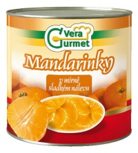 Kompot mandarinky 2850g IDS