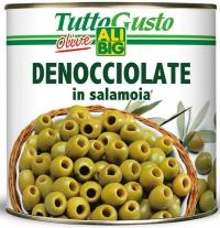 Zelené olivy 2,6kg Hügli