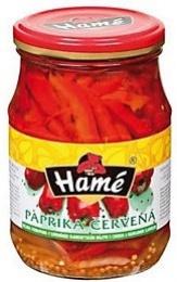Paprika červená řezaná 0,3l (10)