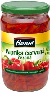 Paprika červená řezaná 0,7l (8)